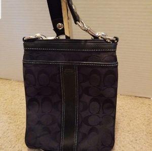 Coach Signature Canvas Crossbody Bag